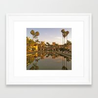Blades of Reflection Framed Art Print
