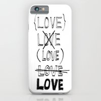 iPhone & iPod Case featuring XLOVE by When the robins came