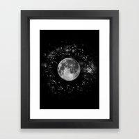Astrology Constellation Map Art Print Framed Art Print
