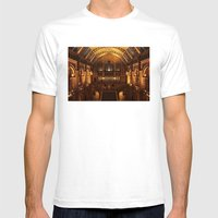 Night At The Museum Mens Fitted Tee White SMALL
