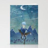Jack Frost Stationery Cards