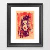 TAKE CONTROL Framed Art Print