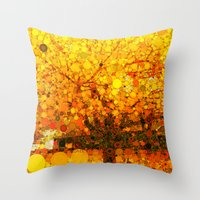 :: It Was All Yellow :: Throw Pillow
