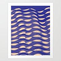 Midnight Pacific Standard — Matthew Korbel-Bowers Art Print