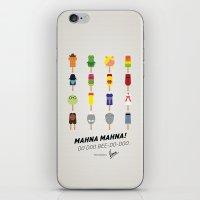 My MINIMAL ICE POPS Univ… iPhone & iPod Skin