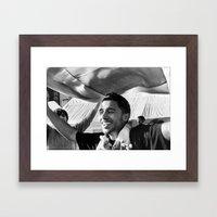 Celebrating for justice Framed Art Print