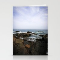 Acadia View - Ocean Scen… Stationery Cards