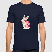 Bunny Mens Fitted Tee Navy SMALL