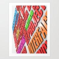 design poster Art Print