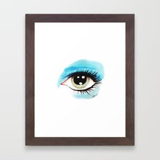 Bowie - Life on Mars? (Left Eye) Framed Art Print