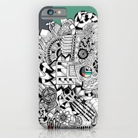 iPhone & iPod Case featuring Orden inverso by Tuky Waingan