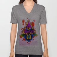 Clarity Pends on Angle of Vision Unisex V-Neck