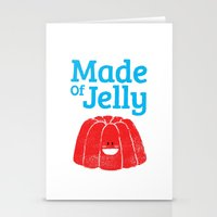 Made Of Jelly Stationery Cards