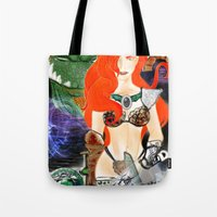 Warrior Lady.  Tote Bag