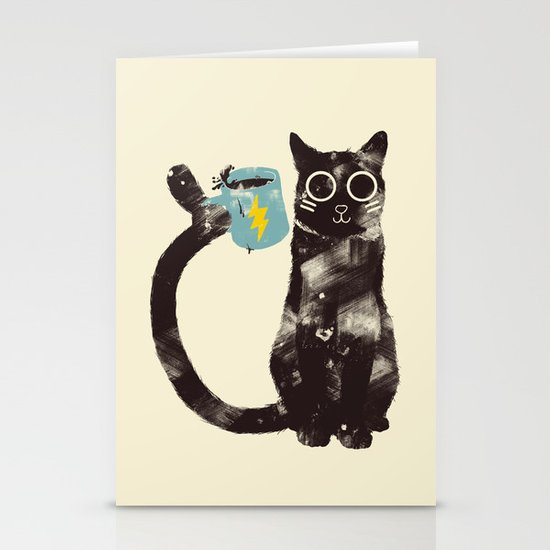 On Drugs Stationery Card