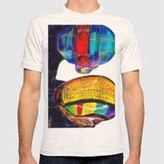 Daft Punk Mens Fitted Tee Natural SMALL