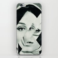 Frau mit Dreieck 1 iPhone & iPod Skin