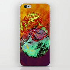 old map of a foreign world far away iPhone & iPod Skin