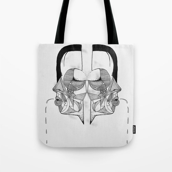 'Face Study I' Tote Bag