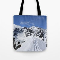 Mount Marathon Tote Bag