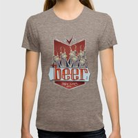Beers Womens Fitted Tee Tri-Coffee SMALL
