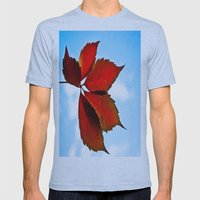 Up In The Air Mens Fitted Tee Athletic Blue SMALL