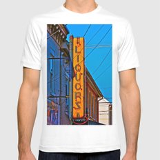 Liquors Mens Fitted Tee SMALL White