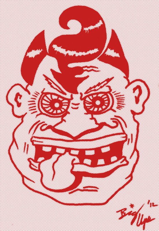 Devilish Dude Art Print