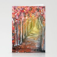 Path of Life Stationery Cards
