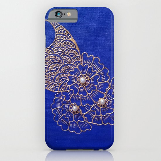 Blue Pearl iPhone & iPod Case