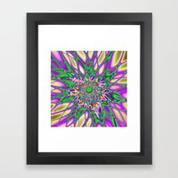 Psychedelic Smash Framed Art Print