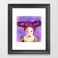 Lolla Framed Art Print