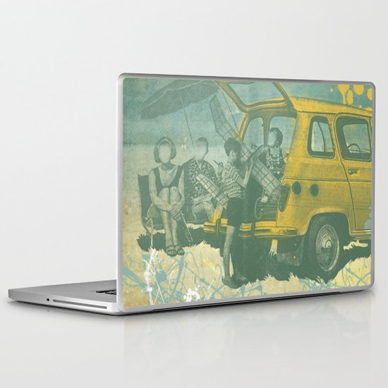 when i was young _ model planes and station wagons Laptop & iPad Skin