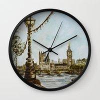 London View Wall Clock