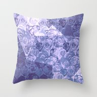 Carpet Of Roses And Geom… Throw Pillow