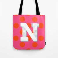N Is For Nice Tote Bag