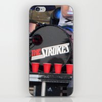 Red Solo - The Strokes iPhone & iPod Skin