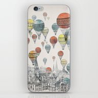 Voyages Over Edinburgh iPhone & iPod Skin