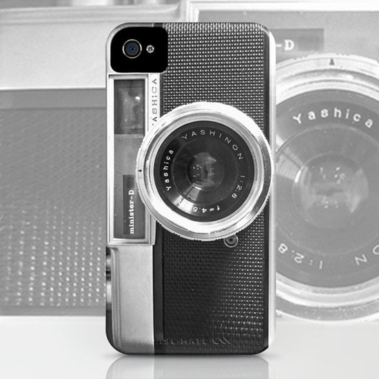 Old School Camera Phone iPhone4 case - Also available as iPhone5 case and skin Art Print