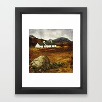 Blackrock Cottage Glencoe Scotland Framed Art Print