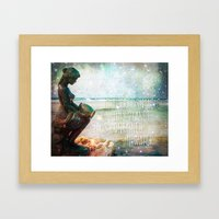 Aqua Magicae Framed Art Print