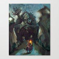 Mountain Troll  Canvas Print