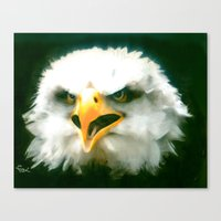 WAKE UP AMERICA !!! Canvas Print