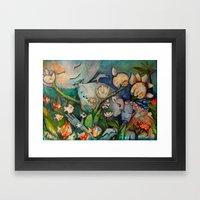 SINFONIA Framed Art Print