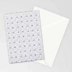 Stuga pattern, white Stationery Cards