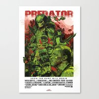 The Predator Canvas Print