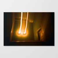 E.V. Bathroom Canvas Print