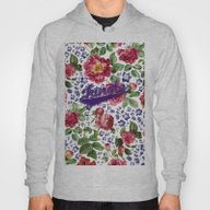 Botanical Art Hoody