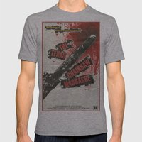 Texas Chainsaw Massacre Mens Fitted Tee Athletic Grey SMALL