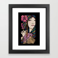 Tribal Artist Framed Art Print